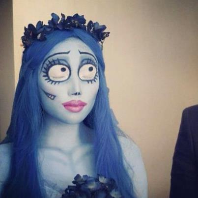 Corpse Bride Makeup Fashion Hotbox