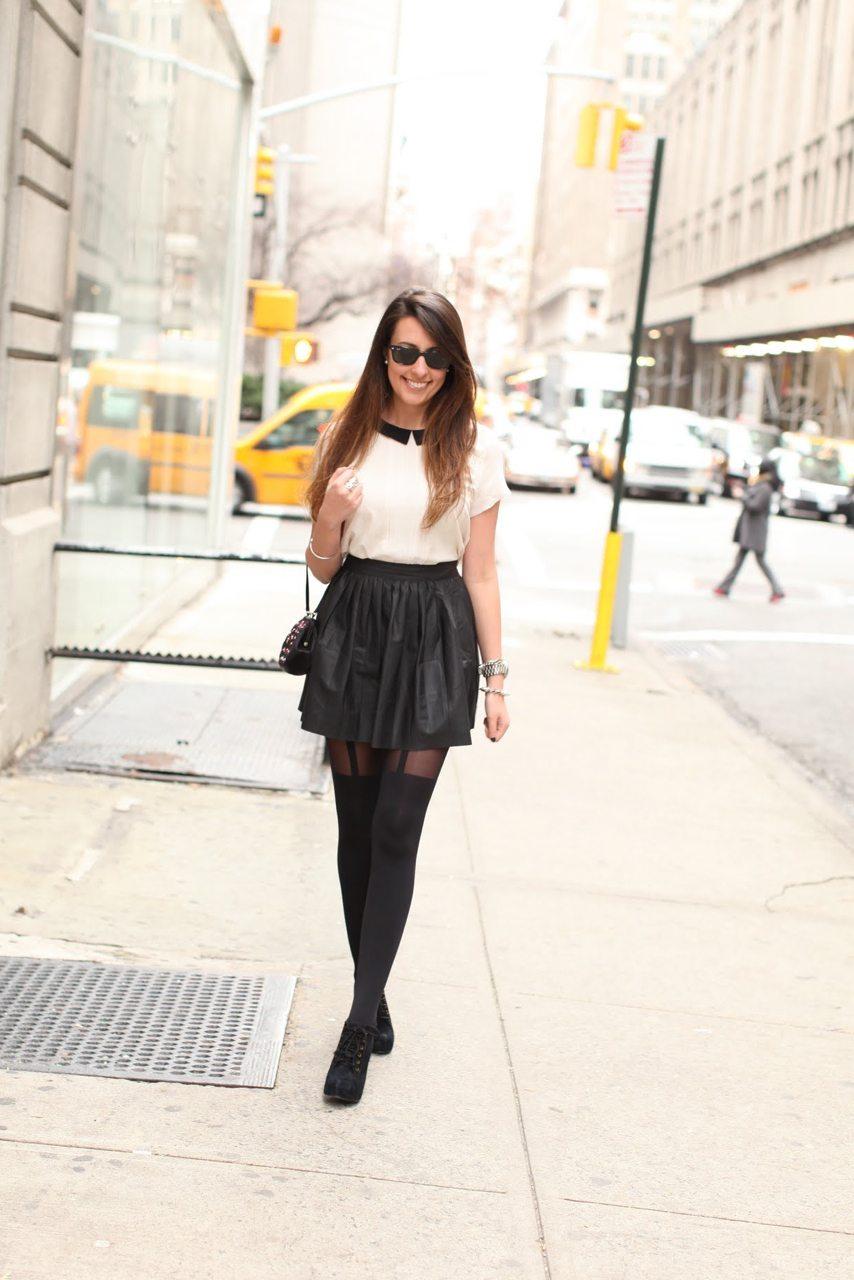 Leatherette Schoolgirl