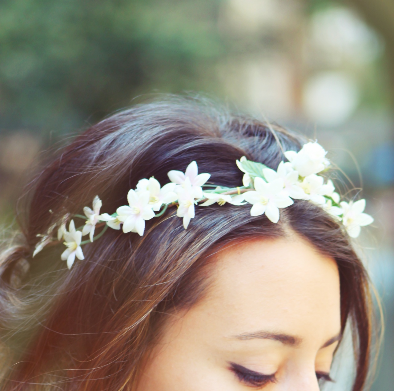 flower headband tumblr girl - photo #45