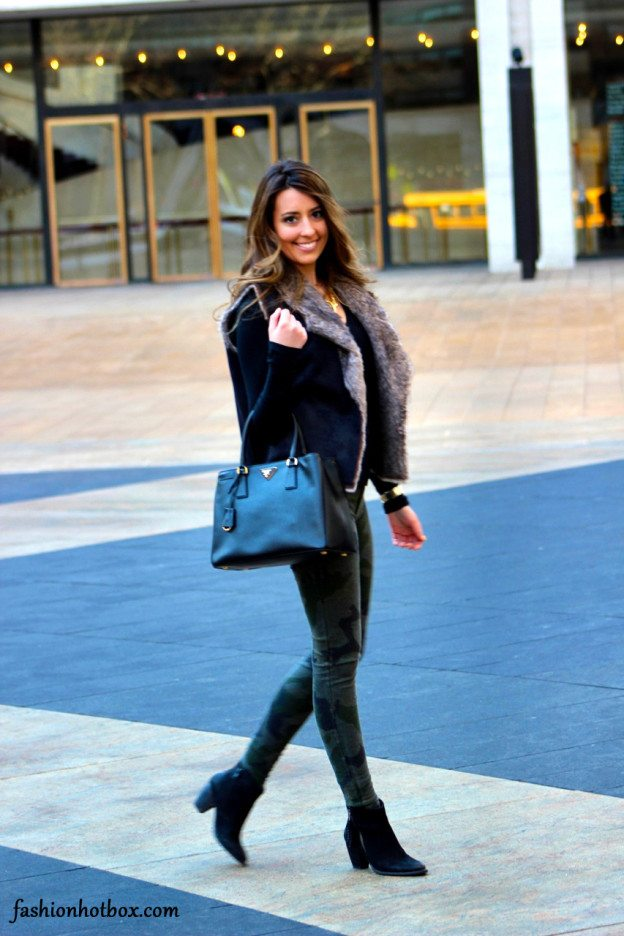 chic winter outfit prada brandy melville