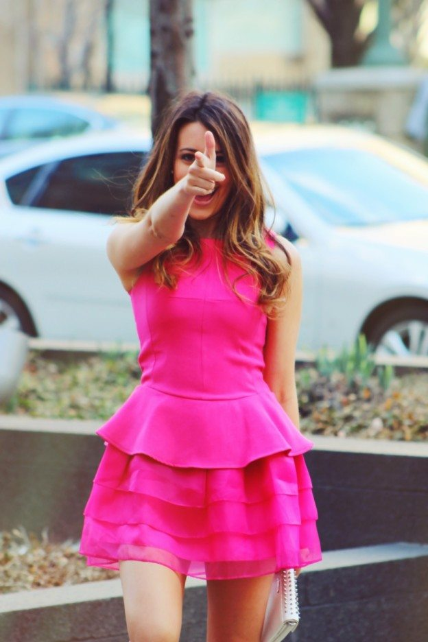 Dresses-Up Pink Party Barbie Dress