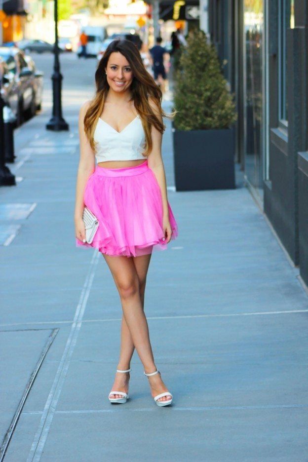 cute tutu spring outfit