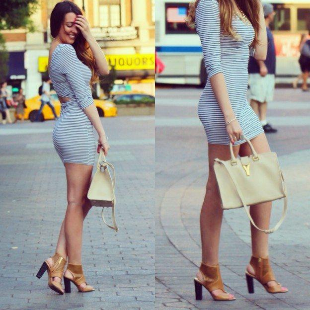 shop tobi.com striped iris dress