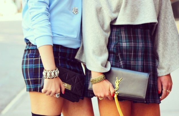 cute back to school plaid skirt outfits chloe & isabel jewelry bloomingdales