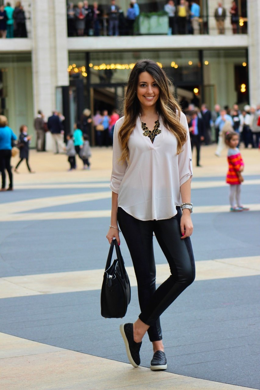 Black Blouse Outfit Outfits With Sheer Blouses