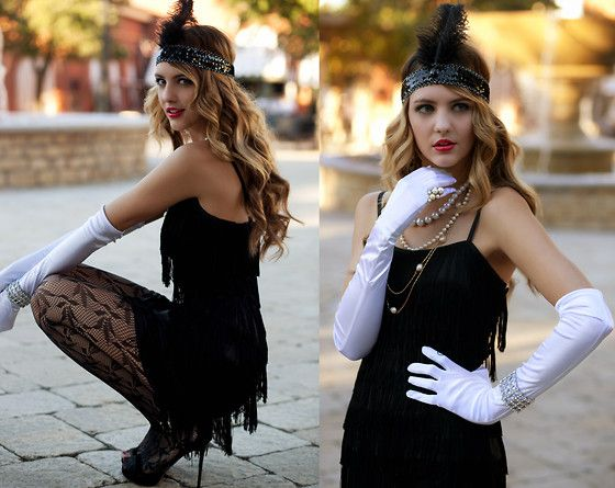 Flapper Girl Halloween Costume Diy Halloween Costumes Diy