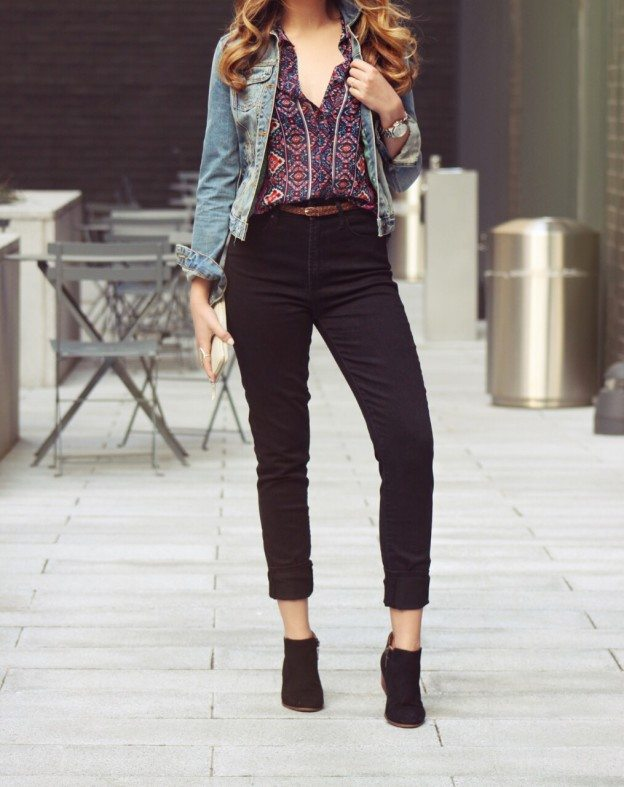 Cute Spring Outfit Articles of Society Jeans