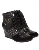 Lipsy Lucifer Wedge Hi-Tops