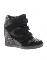 River Island Studded High Top Sneakers