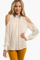Medallion Button Up Shirt