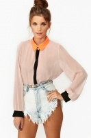 Electric Pop Blouse