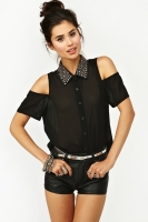 Total Stud Blouse