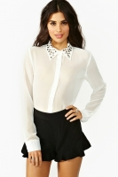 Triangle Studded Blouse