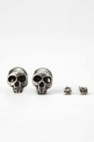 Itty Bitty Skull Earring Set