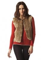 525 America Basic Fur Vest