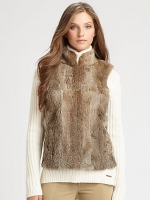 Michael Michael Kors Rabbit Fur Vest