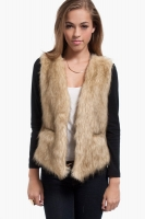J. Leyendecker Catalina Fur Cardigan