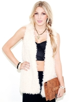 West Coast Wardrobe Free Spirit Fur Vest