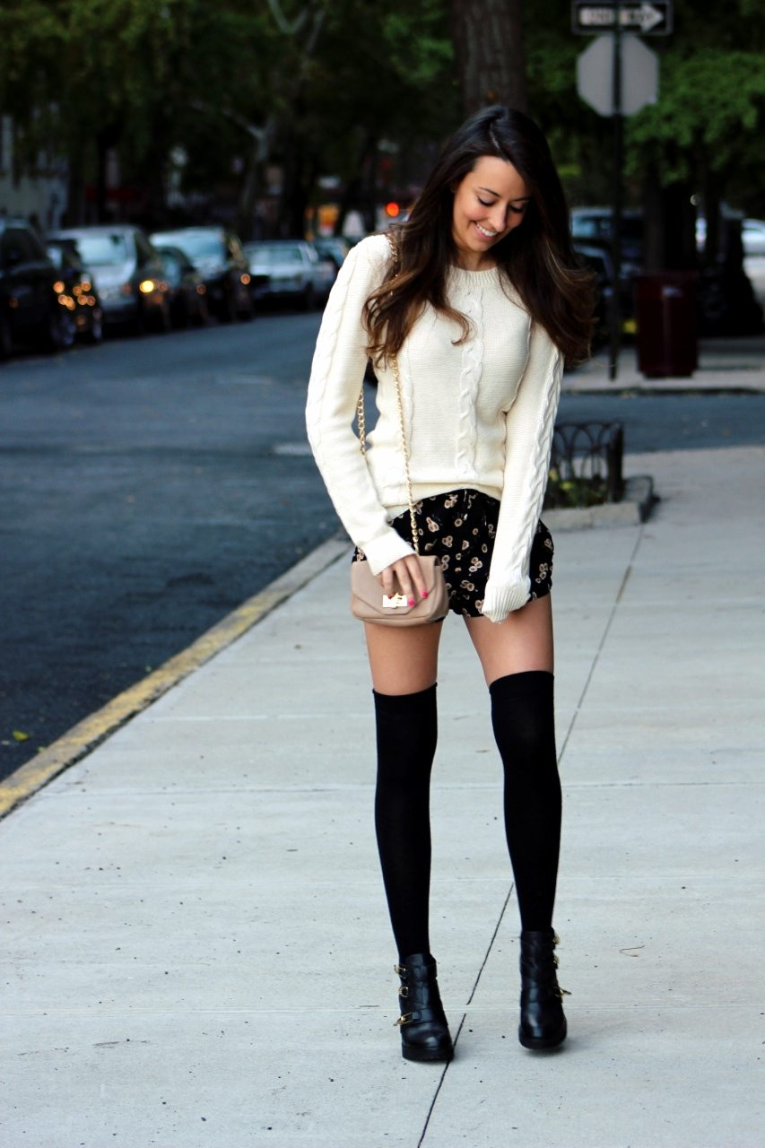 7d98808e265f5 Stalk My Style: Shorts & Thigh-Highs -
