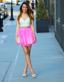 62e301351b91 Two-Piecing it into the New Year featuring BooHoo · cute tutu spring outfit