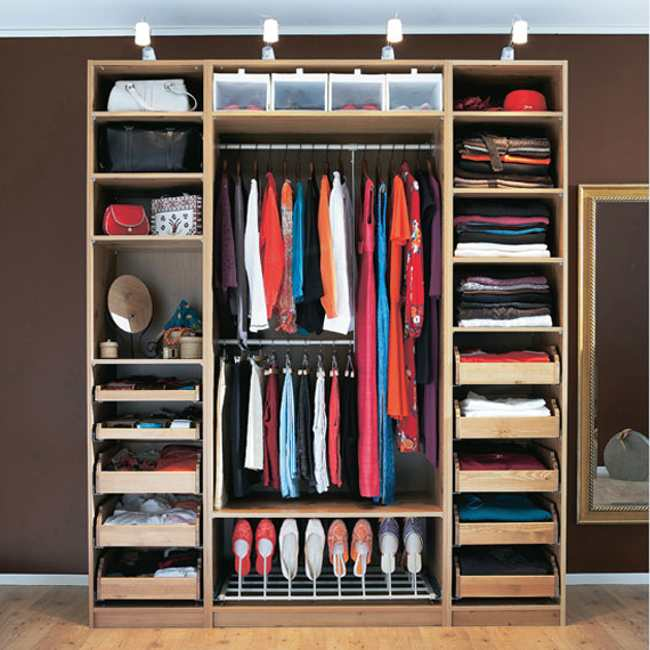 Merveilleux Clothes Storage Systems In Bedrooms