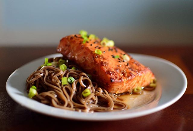 10 top healthiest food bloggers and instagram accounts fashion hotbox soba noodles with miso and shichimi togarashi roasted salmon click here for more healthy forumfinder Choice Image